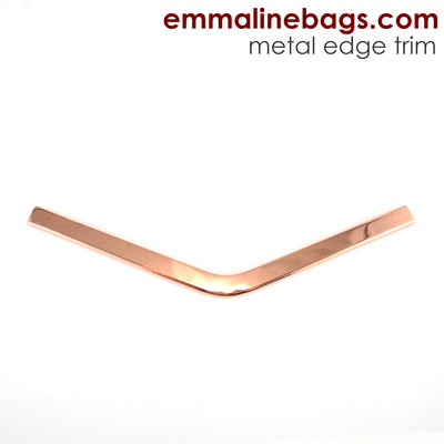 Metal Edge Trim: Style B - Medium Pointed - in Copper Finish