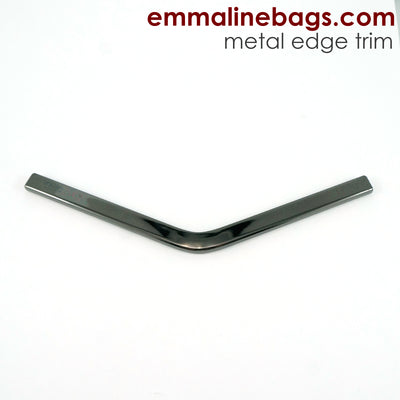 Metal Edge Trim: Style B - Medium Pointed - in Gunmetal Finish