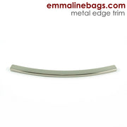Metal Edge Trim: Style D - Curved - in Nickel Finish