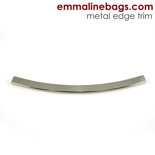 Metal Edge Trim Style D Curved In Nickel Finish
