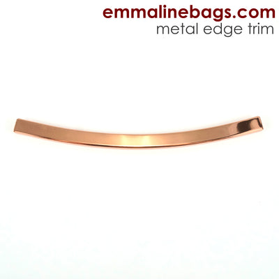 Metal Edge Trim: Style D - Curved - in Copper Finish