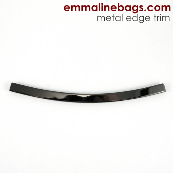 Metal Edge Trim: Style D - Curved - in Gunmetal Finish