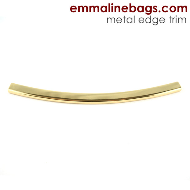 Metal Edge Trim: Style D - Curved - in Gold Finish