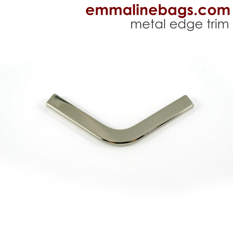 Metal Edge Trim: Style C - Small Pointed - in Nickel Finish