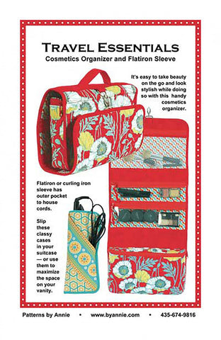 Travel Essentials from By Annie (Printed Paper Pattern)