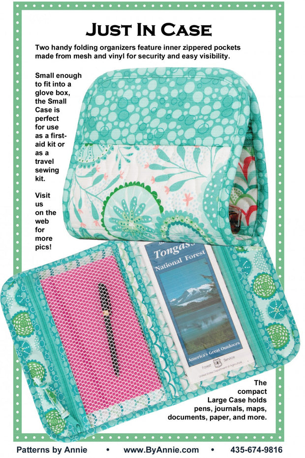 Just In Case from By Annie (Printed Paper Pattern)