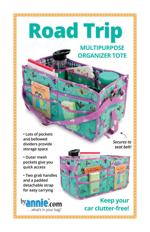 Road Trip Organizer from By Annie (Printed Paper Pattern)