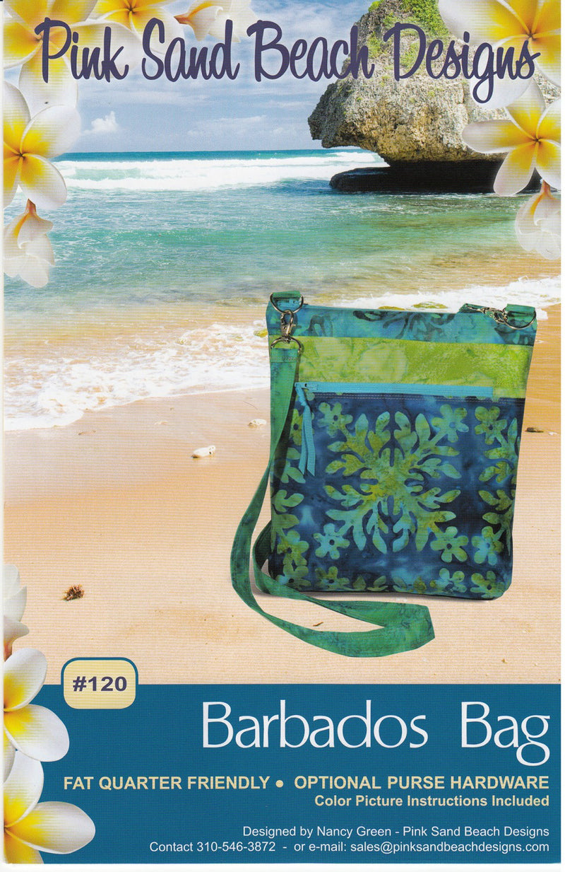 Barbados Bag by Sewing Patterns by Pink Sand Beach (Printed Paper Pattern)