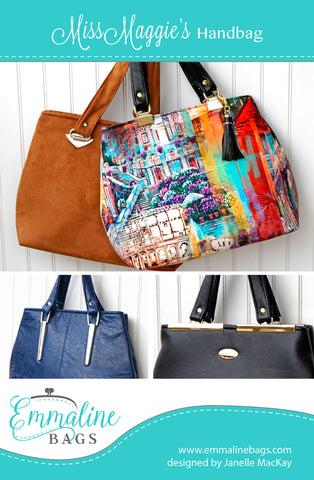Emmaline Bags Sewing Patterns and Bag Hardware