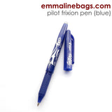 Pilot Frixion Erasable Gel Pens Blue