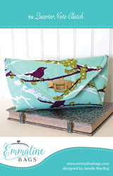 Paper Pattern - The Quarter Note Clutch