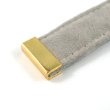 "Rectangular Strap End Caps (1"" wide) in Gold - 4 Pack"
