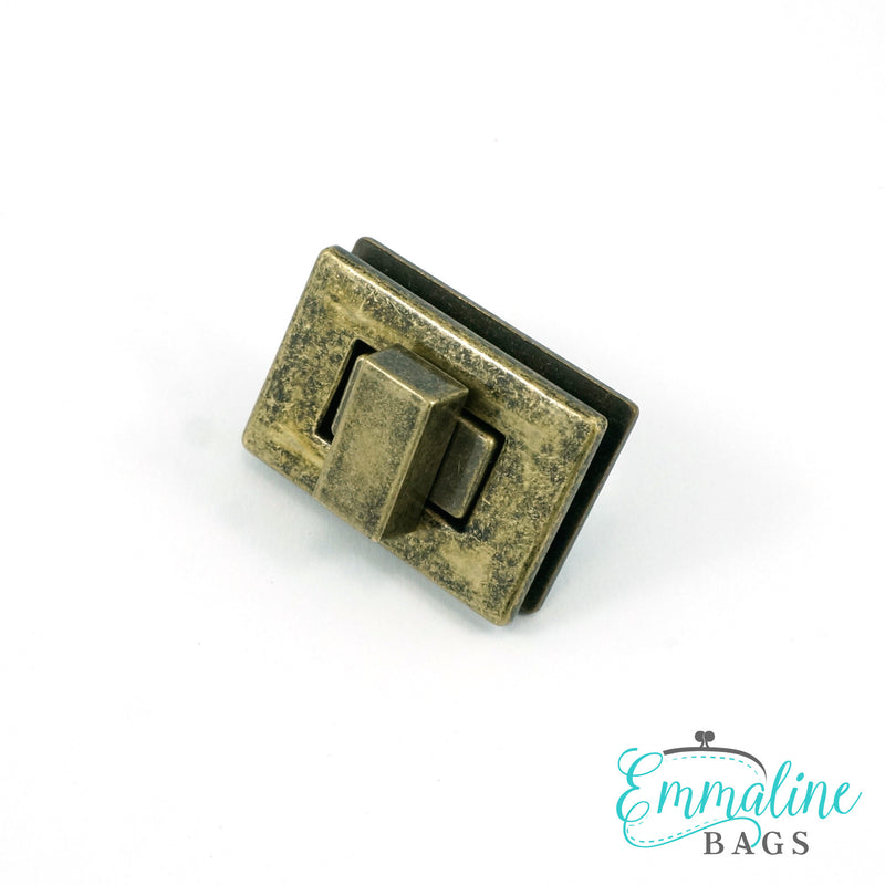 "Rectangular Bag Lock (1-1/2"" (38 mm) wide)"