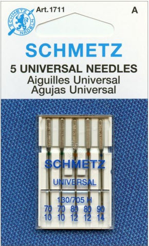 Schmetz Universal Needles (Assorted Sizes 70-90) 5 Count