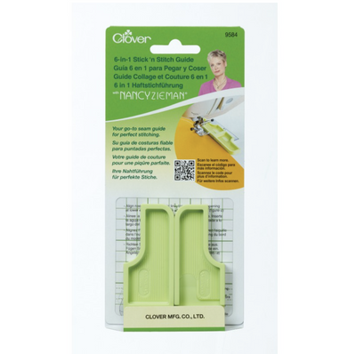 Clover 6-in-1 Stick'n Stitch Guide by Nancy Zieman