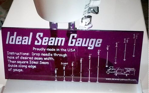 Sew Very Smooth Seam GAUGE
