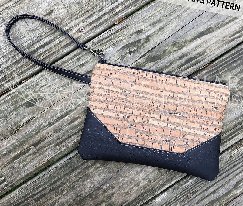 Wristlet Clutch (Paper Pattern) by SewGnar