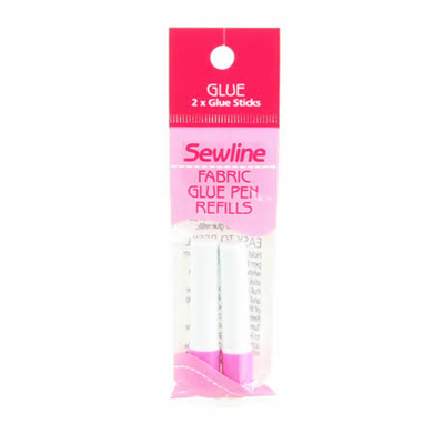 Sewline Water Soluble Glue Pen REFILL in BLUE