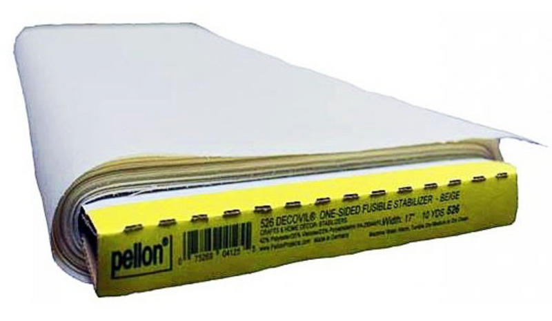 "Pellon Decovil - LIGHT, One-Sided Fusible PL525 - 1/4 Yard (17"" WIDE)"