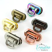 Oval Flip Lock in 6 Finishes!