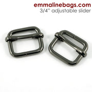 Adjustable Sliders: 6 sizes & 6 finishes available to choose from. (2 Pack)