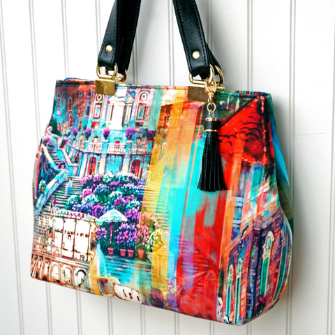 Miss Maggie\'s Handbag, a Free Sewing Pattern by Janelle MacKay ...
