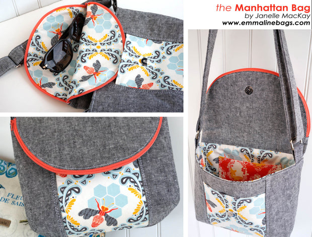 Paper Pattern - The Manhattan Bag