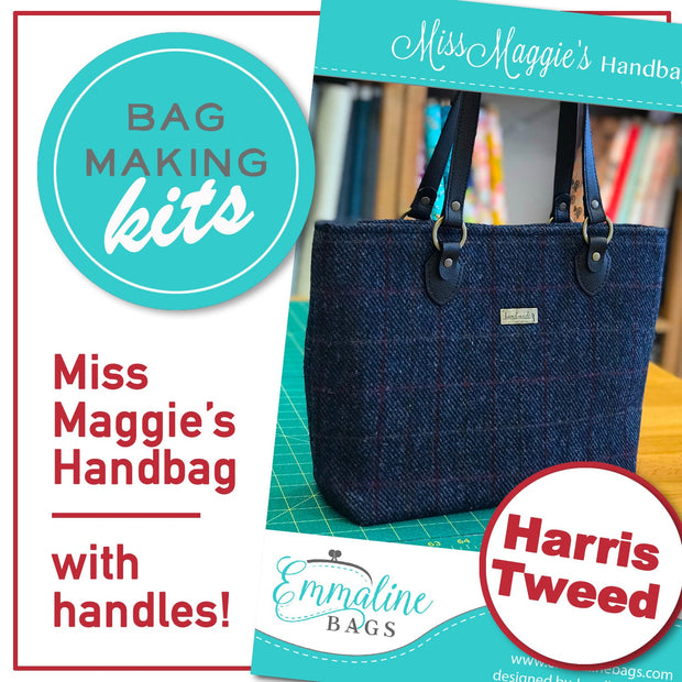 Miss Maggie Handbag Kit - 'Harris Tweed'