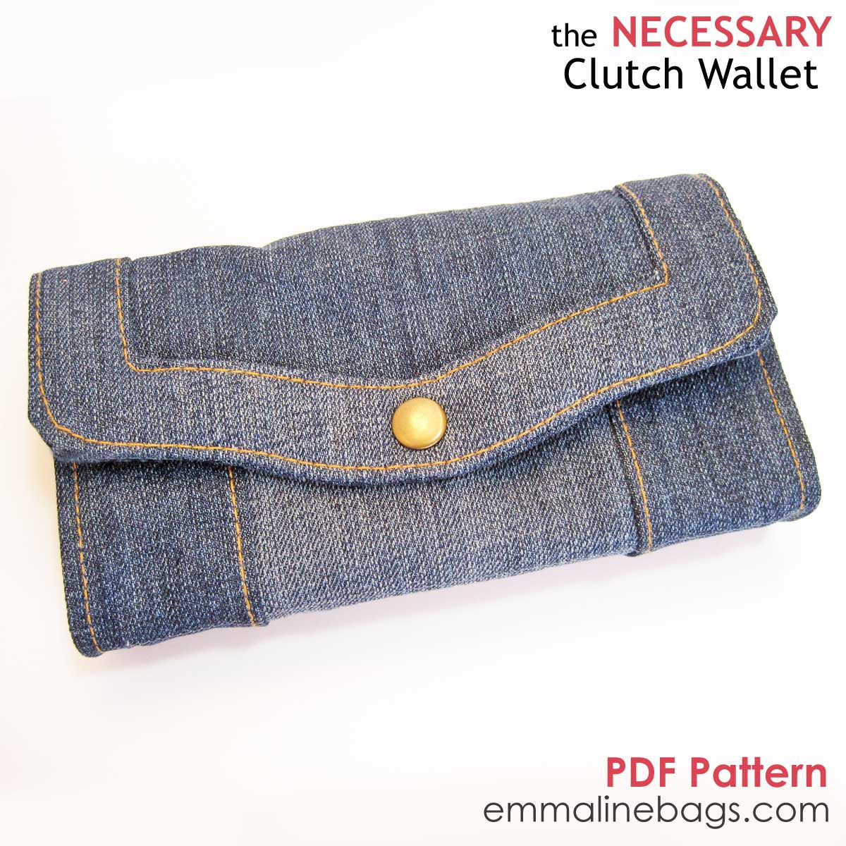 Emmaline Bags - The Necessary Clutch Wallet PDF