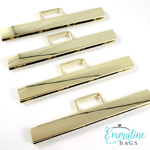 "Strap Anchor:  ""Top Edges"" - in Gold Finish (4 Pack)"
