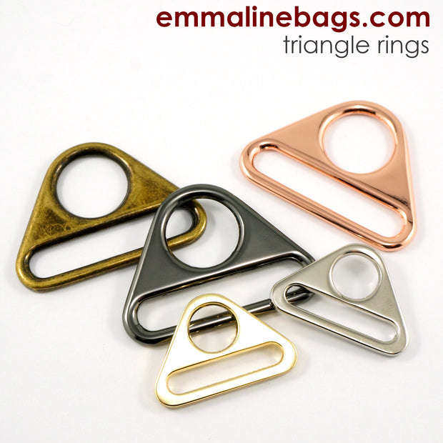 "Triangle Rings: 1"" (25 mm) (2 Pack)"