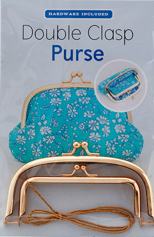 Zakka Workshop - Double Clasp Purse Kit