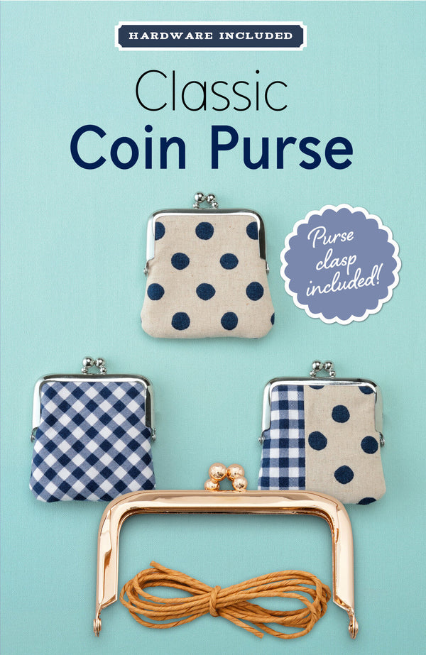 Zakka Workshop - Classic Coin Purse Kit