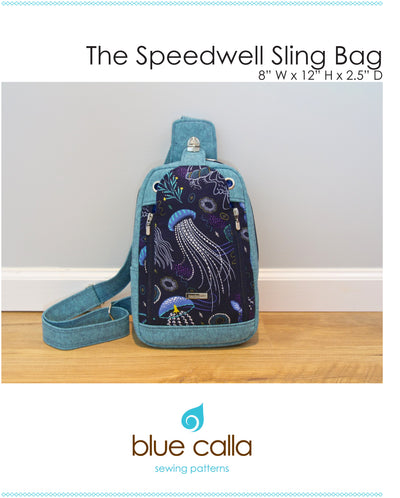 Speedwell Sling by Blue Calla Sewing Patterns (Printed Paper Pattern)