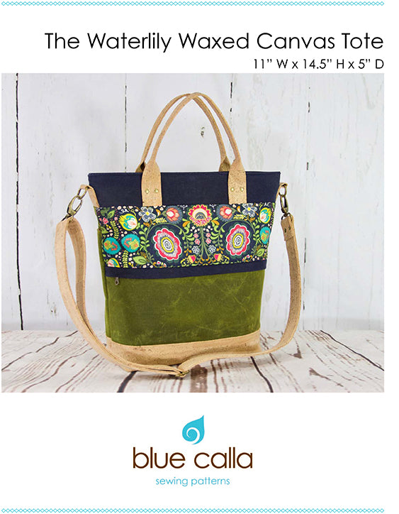 Hardware Kit - Waterlily Waxed Canvas Bag by Blue Calla