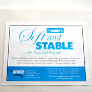 "By Annie's Soft & Stable 1/2Yd Precut (18"" x 58"")"