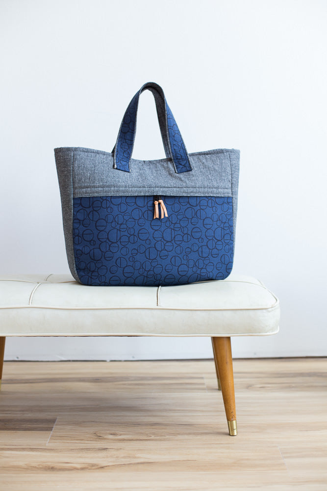 Fika Tote by Noodlehead (Printed Paper Pattern)