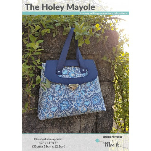 Holey Mayole by Sewing Patterns by Mrs H (Printed Paper Pattern)