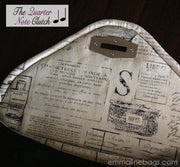 The Quarter Note Clutch Interior Flap