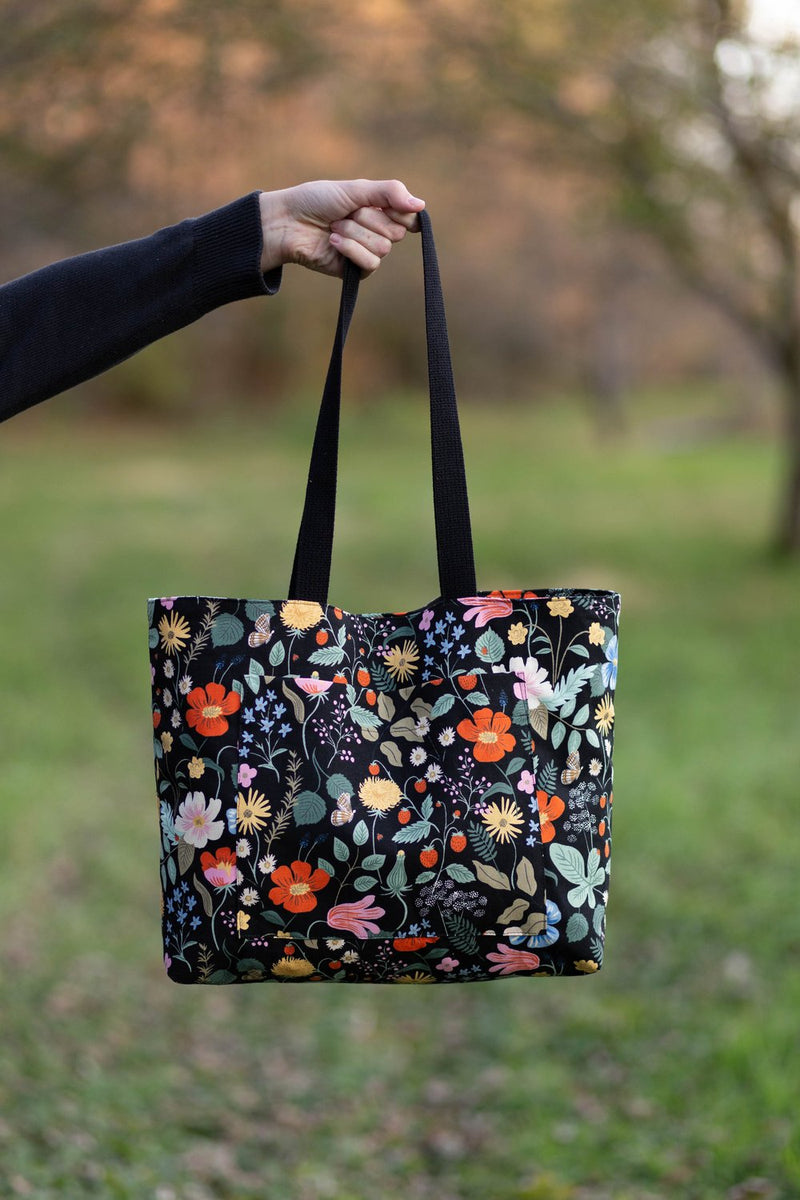 Pepin Tote by Noodlehead (Printed Paper Pattern)