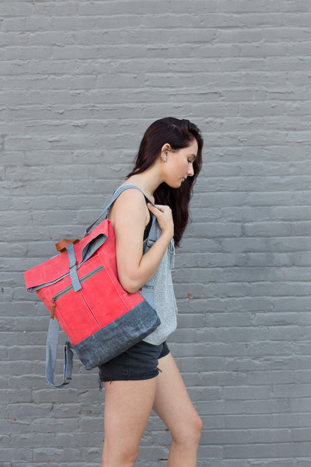 Range Backpack by Noodlehead (Printed Paper Pattern)
