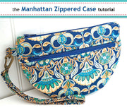 The Manhattan Zipper Case - Free Pattern