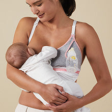 cotton-modal nursing bra accessory
