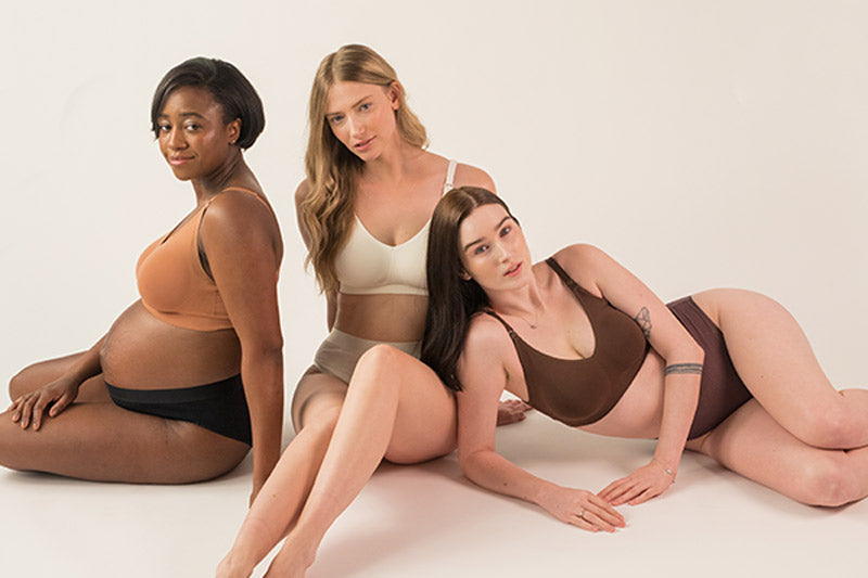 Shop Body Silk Seamless Nursing Bra Bundle Bundle