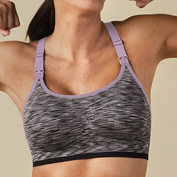Moisture-wicking Nursing Bra