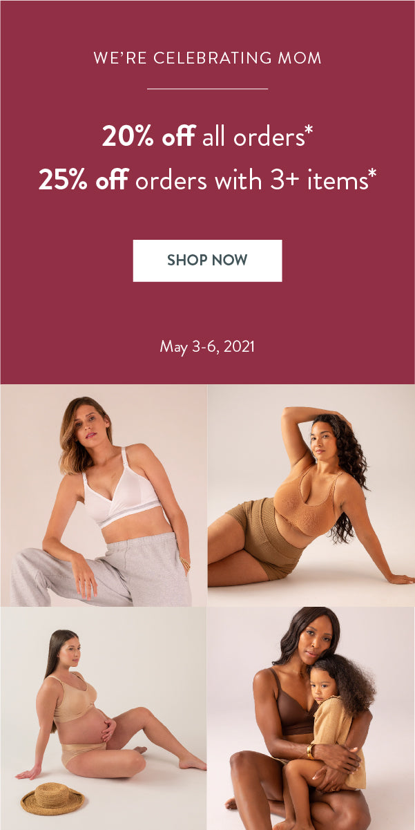20-25% off for Mother's Day