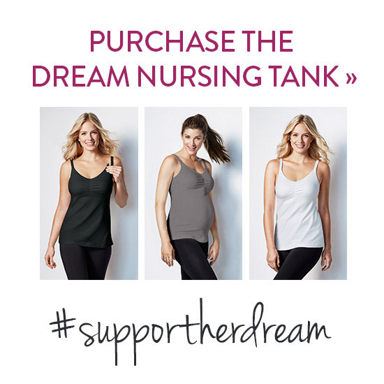 Purchase the Dream Nursing Tank. #supportherdream