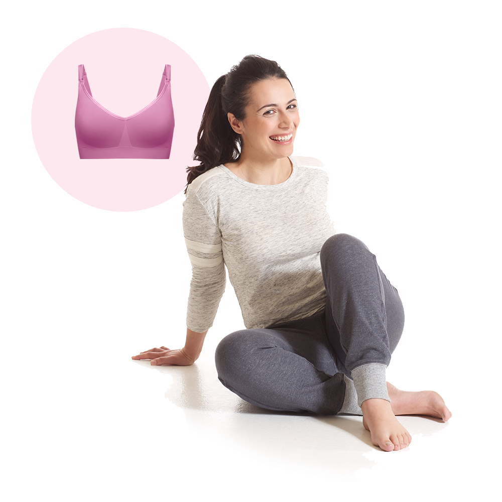 Comfortable, confident, complete, shop our collections of maternity and nursing bras.