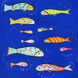 11 Fish | canvas or framed mini