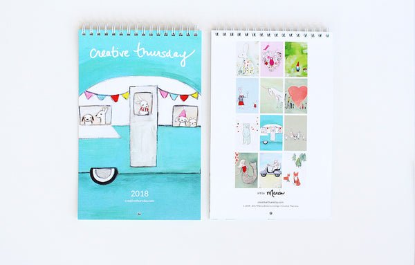 2018 Calendar | happy creatures | limited edition